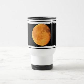 The Big Yellow Moon; No Text Travel Mug