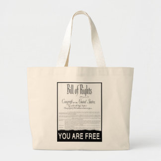 The Bill of Rights Canvas Bag