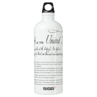 The Bill of Rights SIGG Traveller 1.0L Water Bottle