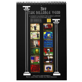 The Billable Year for Lawyers - Personalized Calendars