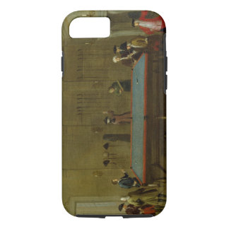 The Billiard Room (oil on canvas) iPhone 7 Case