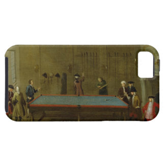 The Billiard Room (oil on canvas) Tough iPhone 5 Case