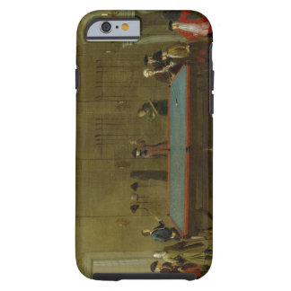 The Billiard Room (oil on canvas) Tough iPhone 6 Case