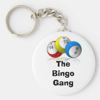 The Bingo Gang Basic Round Button Key Ring