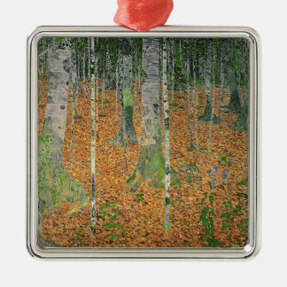The Birch Wood, 1903 Christmas Ornament