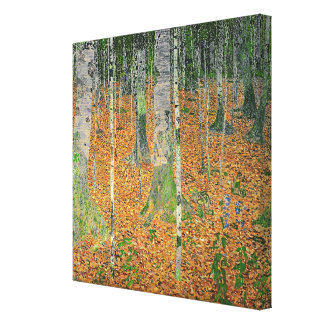 The Birch Wood, 1903 Gallery Wrapped Canvas
