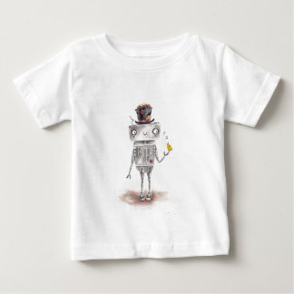 The Bird and the Robot Baby T-Shirt
