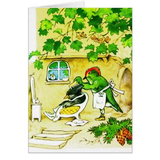 The Bird Barber Card