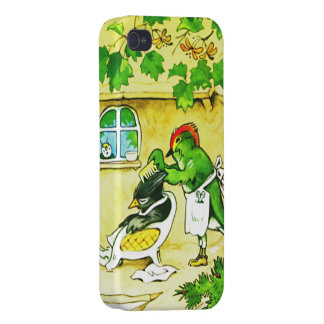 The Bird Barber iPhone 4/4S Cases