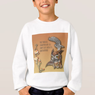 The Bird Is Powered By Its Own Life And Its Motiva Sweatshirt