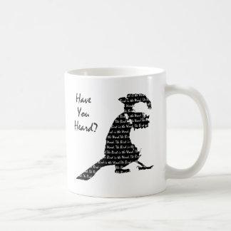 The Bird is the Word Basic White Mug