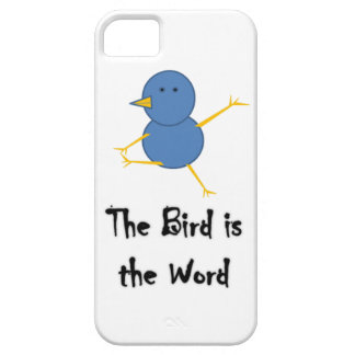 The Bird Is The Word Case Barely There iPhone 5 Case