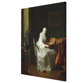 The Bird Organ or A Woman Varying Her Canvas Prints