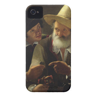 The Bird Seller (oil on canvas) iPhone 4 Covers