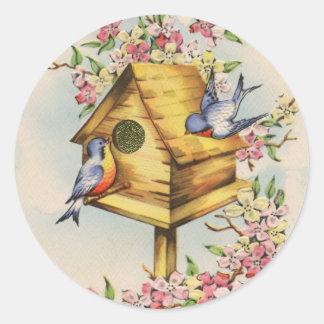 The Birdhouse Classic Round Sticker