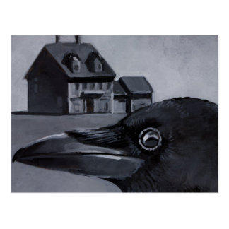 The Birdhouse Postcard