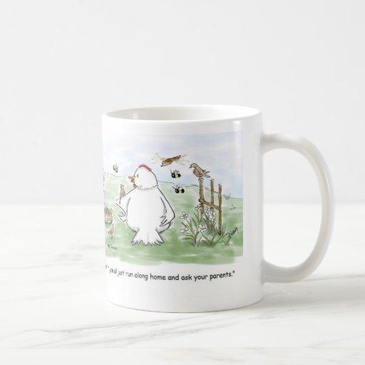 The Birds and the Bees Basic White Mug