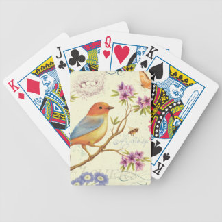 The Birds and the Bees Bicycle Playing Cards