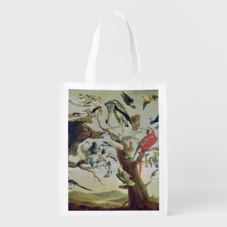 The Bird's Concert 2 Reusable Grocery Bag