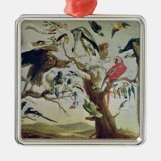 The Bird's Concert Christmas Ornament