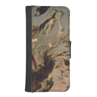The Bird's Concert iPhone SE/5/5s Wallet Case