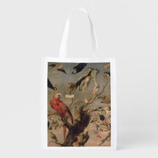 The Bird's Concert Reusable Grocery Bag