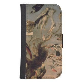 The Bird's Concert Samsung S4 Wallet Case