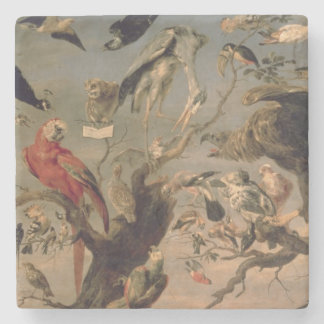 The Bird's Concert Stone Coaster