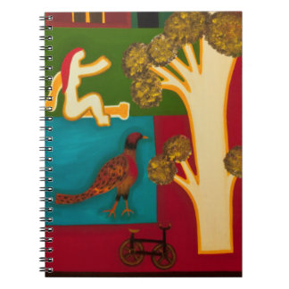 The Birds from Shepherd's Bush 2009 Spiral Notebook