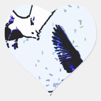 The Birds Heart Sticker
