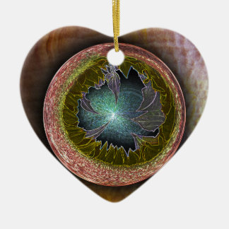The Birth Ceramic Heart Decoration