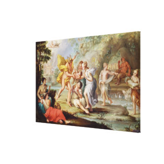 The Birth of Bacchus Canvas Print