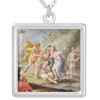 The Birth of Bacchus Silver Plated Necklace