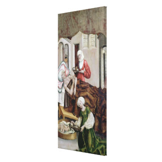 The Birth of St. John the Baptist Canvas Print