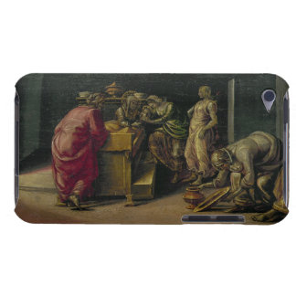 The Birth of St. John the Baptist (oil on panel) iPod Case-Mate Case