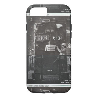 The Birth of The Penn Central Railroad iPhone 7 Case