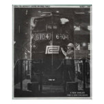 The Birth of The Penn Central Railroad Poster