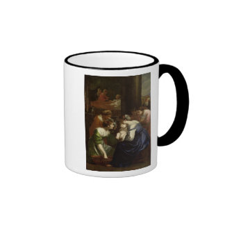 The Birth of the Virgin, c.1620 Ringer Mug