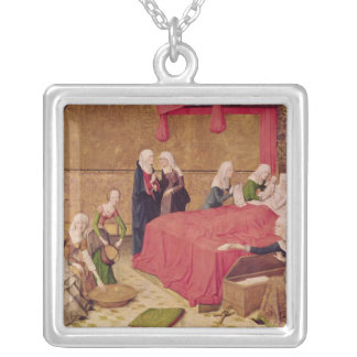 The Birth of the Virgin Silver Plated Necklace