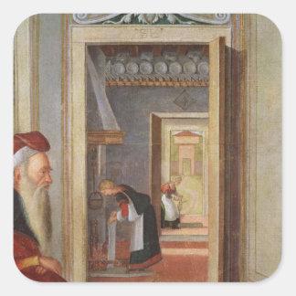 The Birth of the Virgin Square Sticker