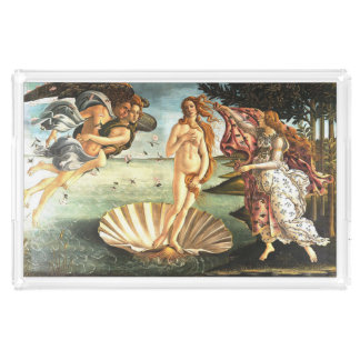 The Birth Of Venus Acrylic Tray