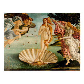 The Birth of Venus | Botticelli Postcard