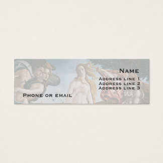 The Birth of Venus Business Card