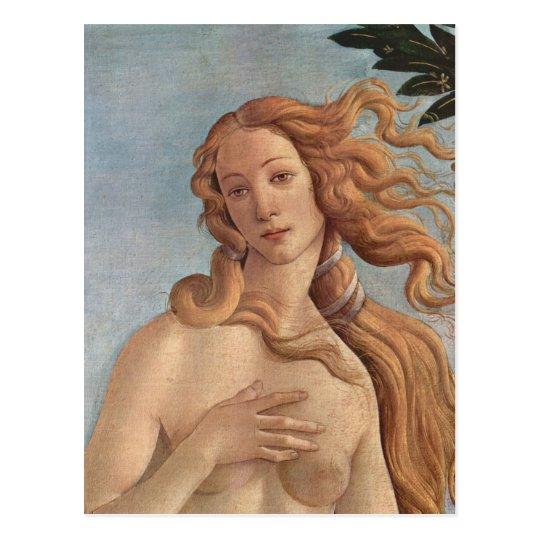 The Birth of Venus by Botticelli, Renaissance Art Postcard