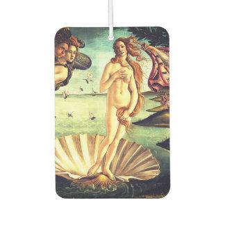 The Birth Of Venus Car Air Freshener