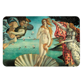 The Birth of Venus - Classic Art by Botticelli Vinyl Magnet