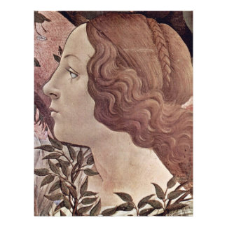The Birth Of Venus Detail By Botticelli Sandro Personalized Flyer