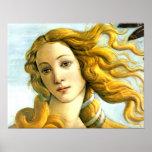 The Birth of Venus -detail Poster