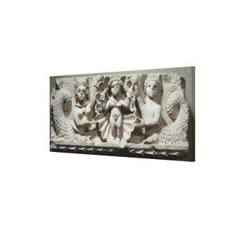 The Birth of Venus (limestone) Canvas Print
