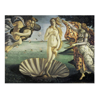 The Birth of Venus Postcard